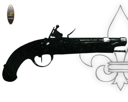 Pistola avancarica Borbonica Anno IX