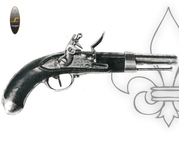 Pistola avancarica borbonica modello Anno XIII