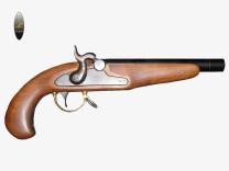 Pistola Avancarica Modello Gaeta